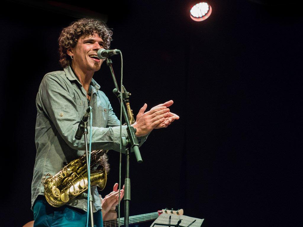 Antonio Lizana en concierto