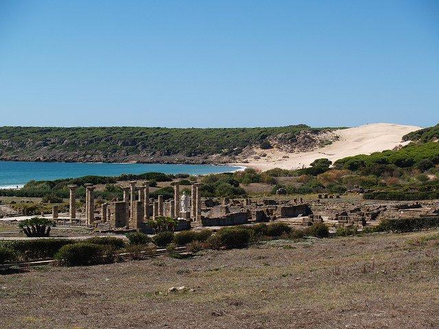 Baelo Claudia, el Atlántico y las dunas
