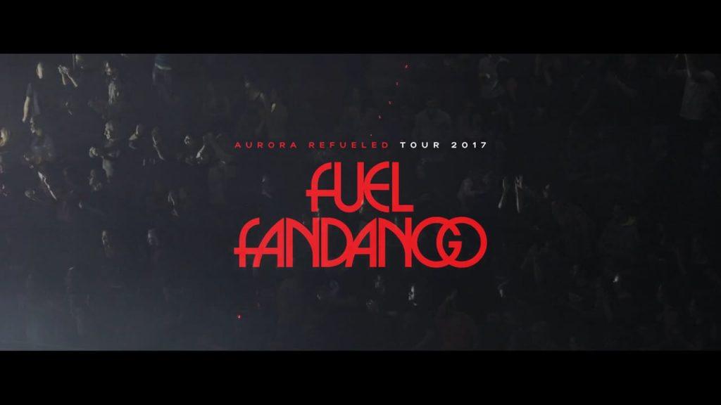 Cartel del la gira de Fuel Fandango 2017
