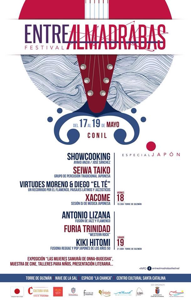 Cartel del Festival Entre Almadrabas