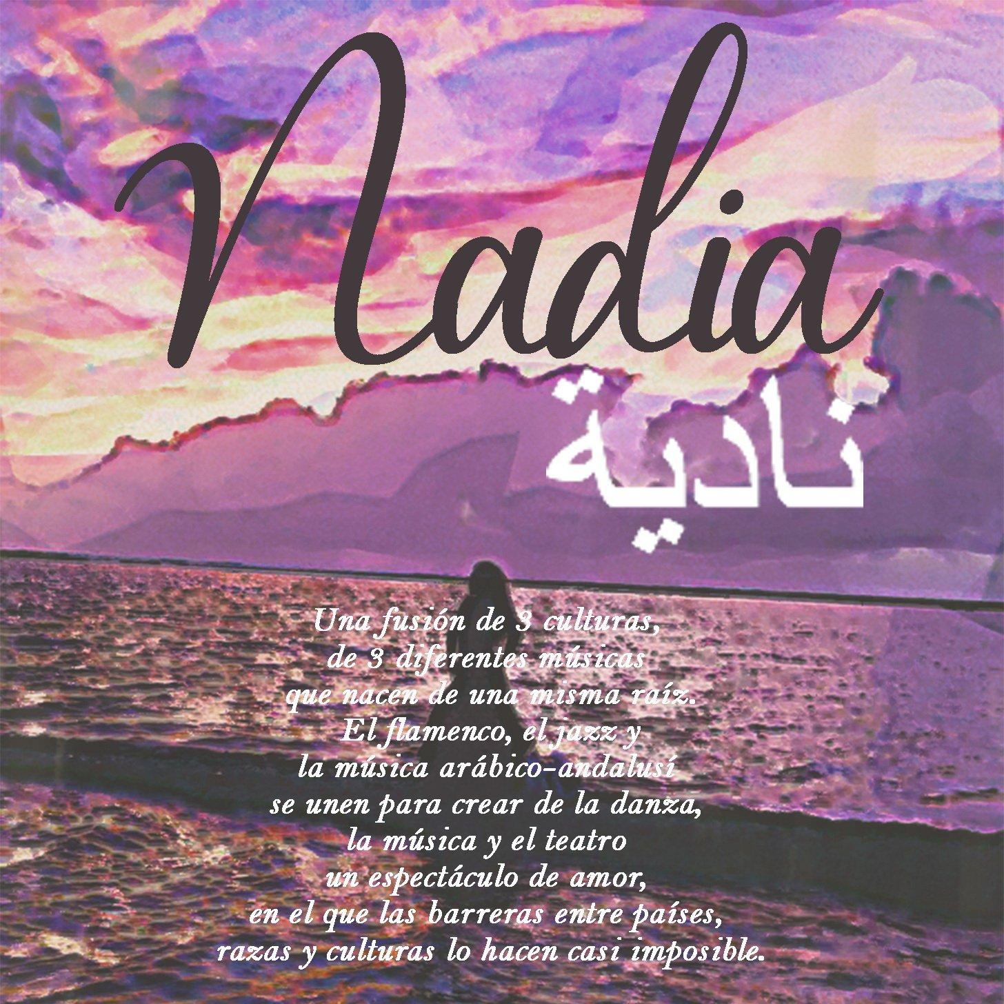 Cartel de Nadia en Conil