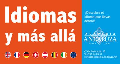 Cartel de la Academia Andaluza