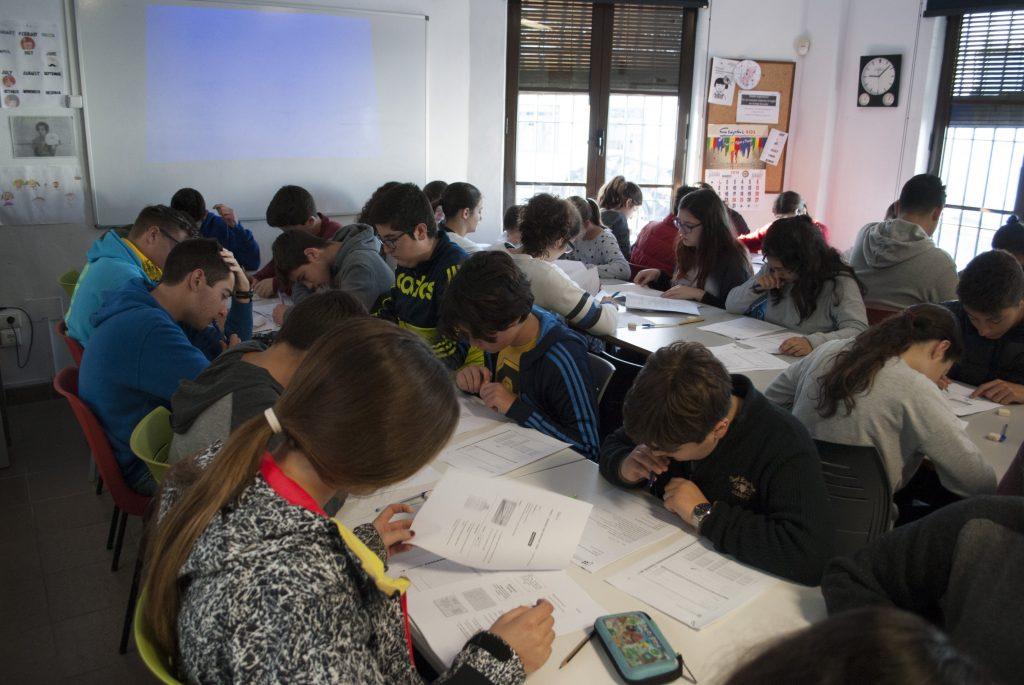 Simulacro MOC en la Academia Andaluza